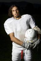 ritratto del giocatore di football foto