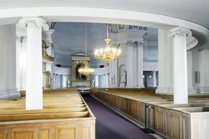 interno della cattedrale di helsinki