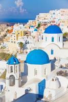 isola di oia santorini, cicladi, grecia foto