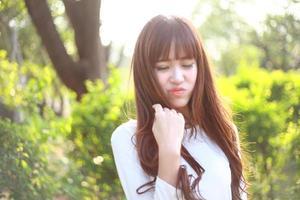 bella ragazza asiatica foto