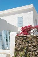 casa tradizionale greca sull'isola di sifnos, in grecia foto