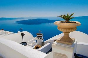 santorini, isole greche foto