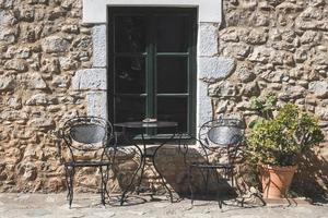 tipica casa greca foto