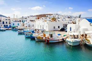 isola di paros, grecia foto
