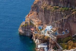 Santorini Grecia foto