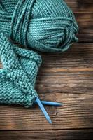 gomitolo di lana foto