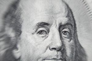 Ritratto di Benjamin Franklin foto