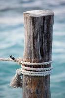 alto vicino della corda foto