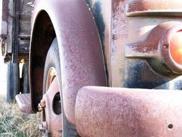 camion da vicino foto