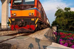 treno di primo piano
