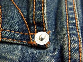 primo piano dei jeans foto