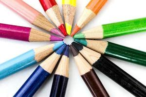 pastelli colorati foto