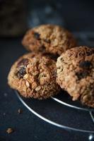 biscotti sani di muesli foto