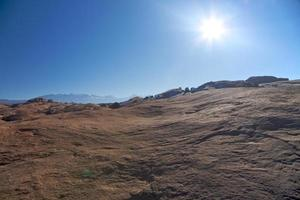 deserto di Moab foto