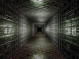sfondo di tecnologia virtuale foto