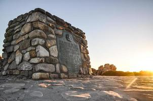 Cape Agulhas - il punto più meridionale dell'Africa foto
