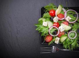 insalata fresca e gustosa foto