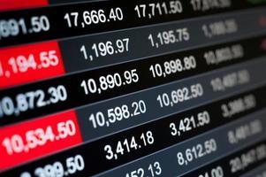 astratto sfondo finanziario foto