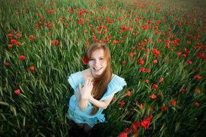 sorriso della ragazza foto