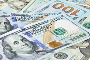 denaro - banconote in dollari statunitensi (usd) foto