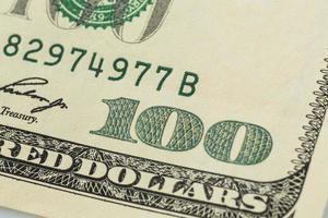 molte banconote da un dollaro foto