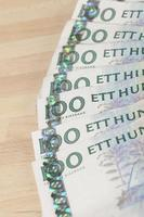 valuta svedese foto