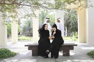 squadra di affari del Medio Oriente foto