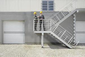 ingegneri industriali in loco foto