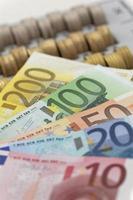 moneta europea foto
