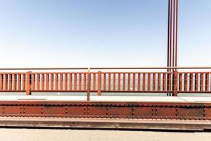 ringhiera del cancello dorato foto