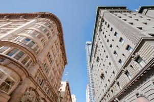 edifici del centro di San Francisco skyline foto