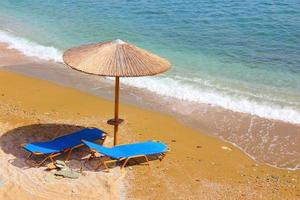spiaggia della grecia foto