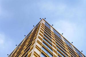 cielo dell'edificio per uffici foto