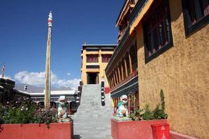 cortile del monastero foto
