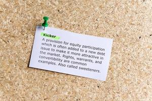 kicker foto