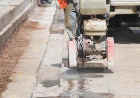 lavori stradali. foto