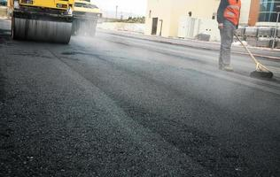 asfalto foto
