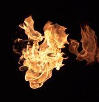 fiamme di fuoco foto