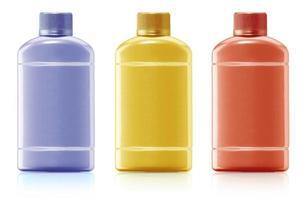 bottiglia di shampoo foto