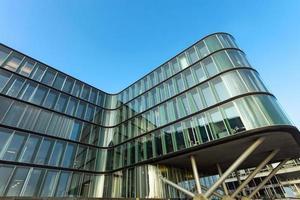 moderna facciata in vetro foto