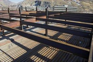 telaio e pavimentazione in acciaio i beam foto