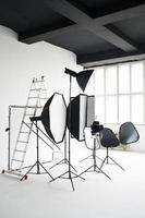 attrezzatura per studio fotografico foto