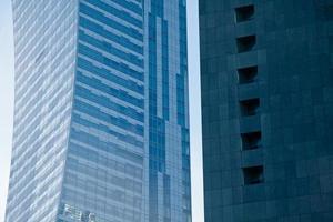 edifici per uffici di architettura moderna foto