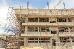 sito di costruzione. foto