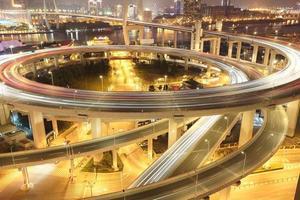 il più grande dell'Asia attraverso i fiumi in un ponte a spirale