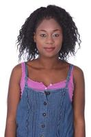giovane donna africana foto