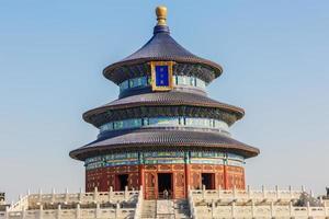 il tempio del cielo a Pechino, patrimonio culturale mondiale foto