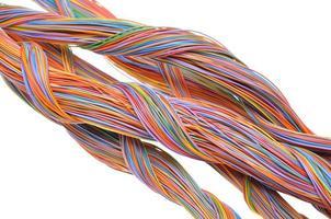 turbinio di cavi di rete del computer foto