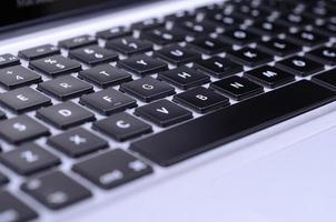 tastiera del computer foto
