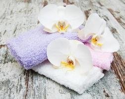 spa di orchidee foto